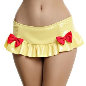 Snow White Juniors Disney Bikini Bottom Skirted